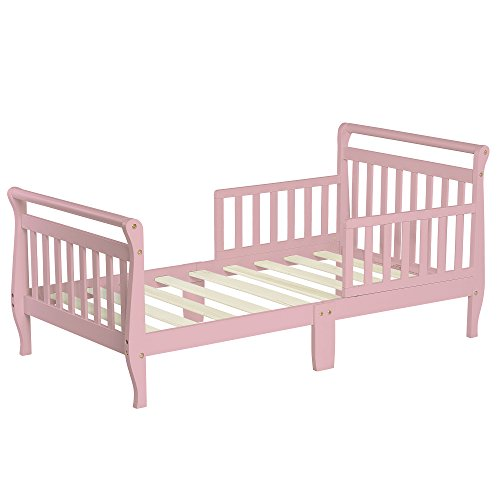 Dream On Me Classic Sleigh Toddler Bed - Blush Pink for $<!--$69.99-->