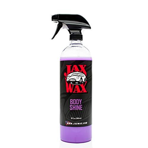 Jax Wax Body Shine Professional Showroom Spray Wax - 32 Ounce