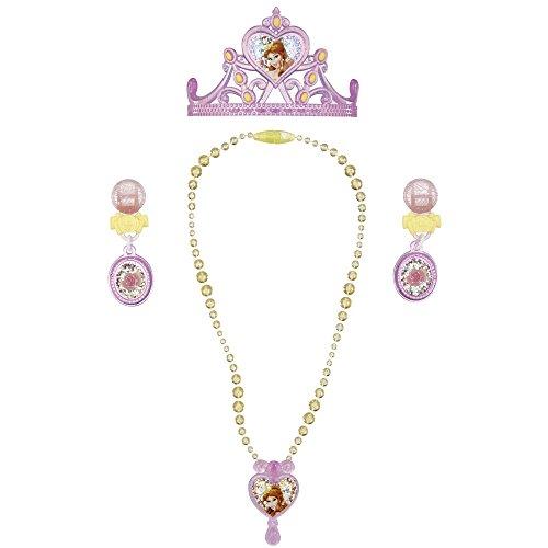 (Disney Princess Belle Enchanted Evening Jewellery Set)