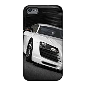 Anti-Scratch Hard Cell-phone Case For Apple Iphone 6s Plus With Custom Fashion Audi R8 Gt Skin Top10cases