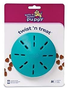 PetSafe Busy Buddy Puppy Twist 'n Treat Dog Toy, Medium