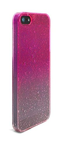 Coque iPhone 4 / 4S Rose gouttes de pluie Raindrops
