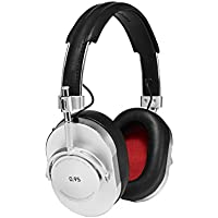 Master & Dynamic MH40 Wired Over-Ear Headphone for Leica Silver Edition Silver Metal/Black Leather
