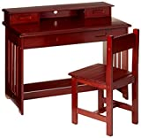 Discovery World Furniture Student Desk with Hutch
