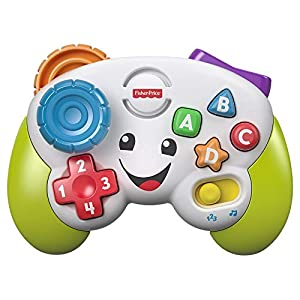 Fisher-Price FWG13 Musical Gamepad and Learning Joystick – Bright Musical Interactive Baby Toy with Learning and Play…