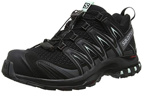 Salomon Women's XA PRO 3D W Trail Runner, Black, 8.5 M US