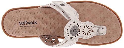 Softwalk Beaumont tóner sandalias de la mujer Blancuzco
