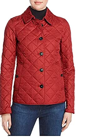 da50f60d3d8 Amazon.com  Burberry Frankby Quilted Pink Jacket  Clothing