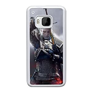 HTC One M9 Cell Phone Case White The Witcher3 Wild Hunt ST1YL6703627