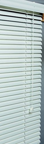 Lotus & Windoware AM3536WH 1-Inch Wide Aluminum Blind, 35 by 36-Inch