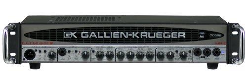 Gallien-Krueger 700RB-II Bi-Amp Bass Amplifier (480/50 Watt) (Gallien Krueger Amp Head)