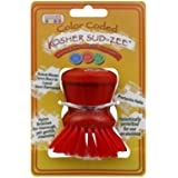 The Kosher Cook KCKH3101M 1-Piece Deluxe Twist Cap Sudzee for Meat, Red Color