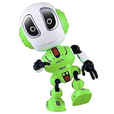 Blossm Robot Toy for Kids Talking Robot Toys Repeats Your Voice, Colorful Flashing Lights and Cool Sounds Robot Mini Robot Travel Toy for Kids Boys Girls Gift.