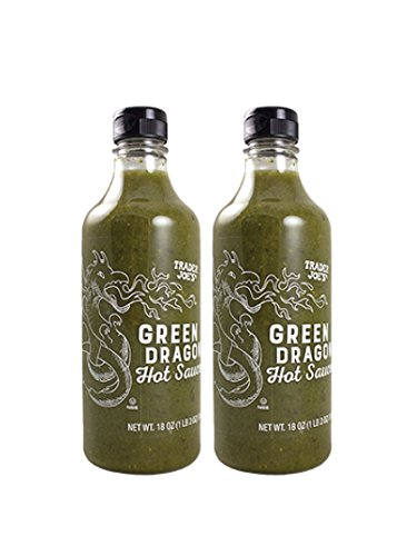 Trader Joes Green Dragon Hot Sauce - 2 pk, 18 oz each
