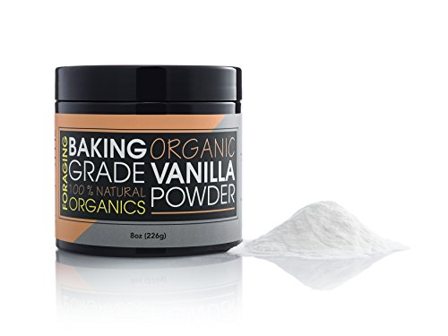 Foraging Organic Vanilla Powder White Baking Culinary Grade Vanilla Bean Extract Substitute For Coffee 100% All Natural by Foraging Organics (Image #5)