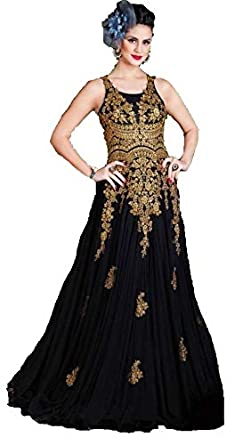 Image Unavailable. Image not available for. Colour  KANAKDHARA Women s Soft  Net Semi-Stitched Gown ... 6d57243e0