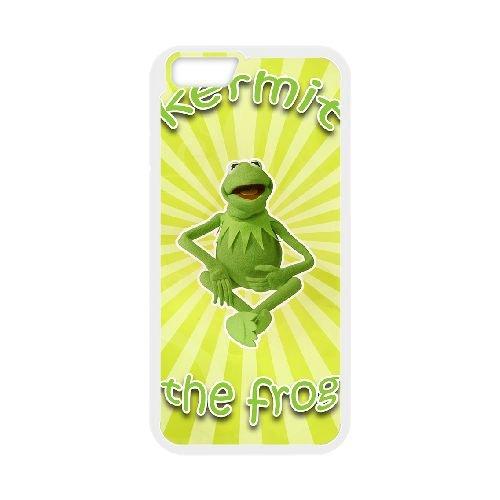Muppets Kermit Piggy Fun 004 coque iPhone 6 Plus 5.5 Inch Housse Blanc téléphone portable couverture de cas coque EOKXLKNBC23581