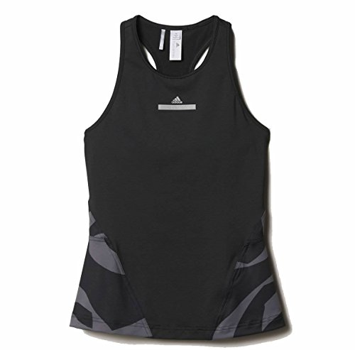 Adidas Stella McCartney Women's Run Clima Tank Black AX7358 (Size: M)