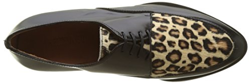Black Pony Emma Multicolore Derbys Go Cordoban Femme Cheetah Multicolore Calvin wqBZwH