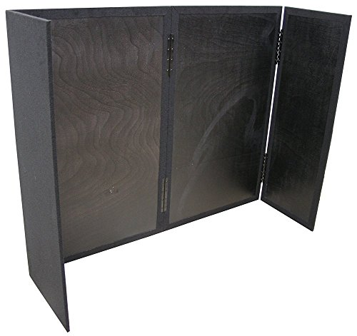 DJ Facade Equipment Heavy Duty 5/8'' Wood Portable Folding Booth Carpet by American Sound Connection