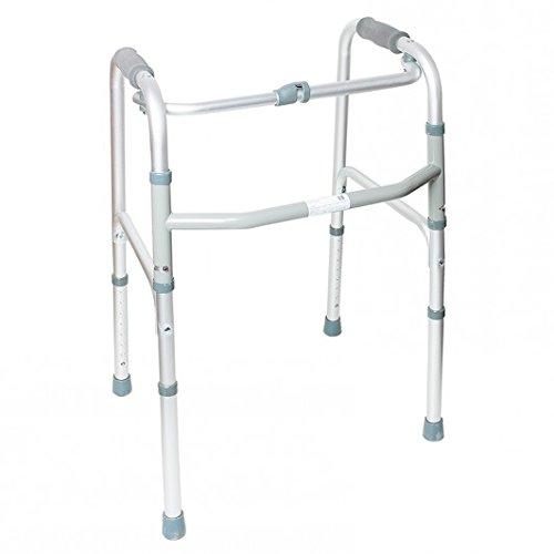 Andador para ancianos plegable de aluminio de Ortaid: Amazon.es ...