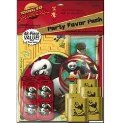 Kung Fu Panda Party Supplies - Kung Fu Panda 48 Piece Party