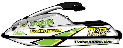 - Yamaha SuperJet, Dimensional Squares with Sponsor Logos & Exotic Signs Tee Shirt Combo Pack - EY0004SUPPACK