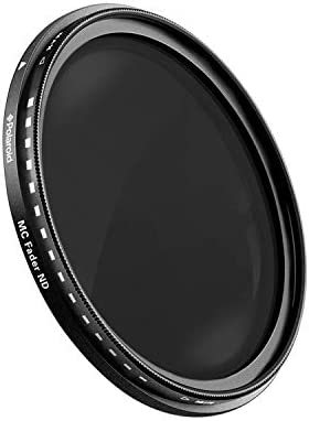 Polaroid Optics HDマルチコーティング可変範囲ND2-ND2000ニュートラルデンシティ(ND)フェーダーフィルター(認定再生品)