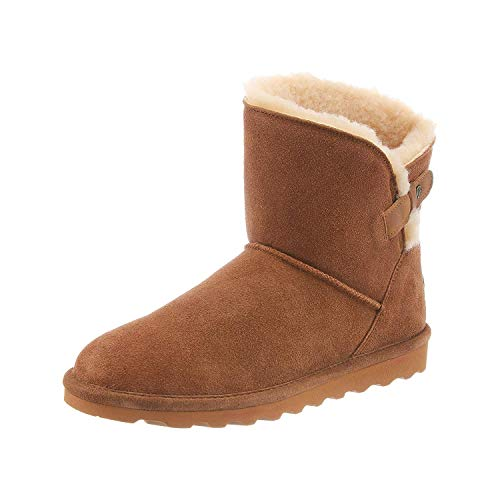 Bearpaw Margaery - Women's 6 Inch Suede Boot - 1903w Hickory - 10