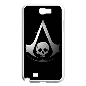 SamSung Galaxy Note2 7100 phone cases White Assassin's Creed cell phone cases Beautiful gifts NYTR4644813