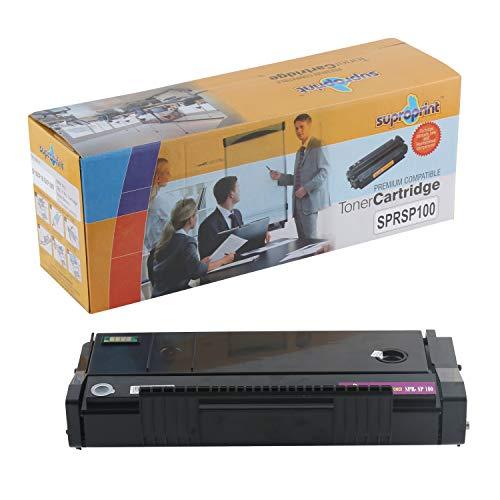 Suproprint Sp 100 Black Cartridge Toner Compatible For Ricoh SP 100
