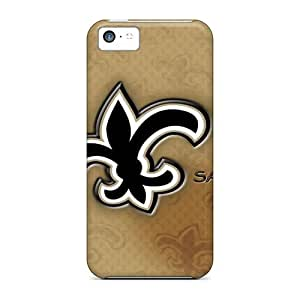 Anti-scratch And Shatterproof New Orleans Saints Phone Case For Iphone 5c/ High Quality Tpu Case