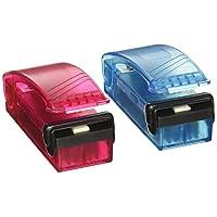 Selladora de bolsas de calor iTouchless Handheld (paquete de 2) para almacenamiento de alimentos hermético, bolsas para refrigerios de reseals, bolsas de plástico de aluminio para sellados térmicos