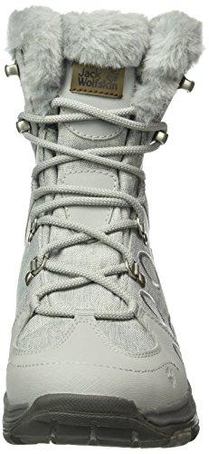 Texapore Jack Wolfskin Gris W 6038 de Noir Alloy Mid Femme Randonnée Hautes Bay Chaussures Thunder xatra