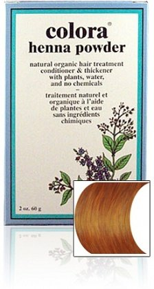 - Colora Henna Powder Hair Color Light Brown 2oz (2 Pack)