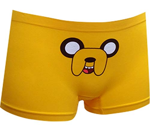 Adventure Time Jake the Dog Seamless Hot Short for women (Large) (Adventure Time Panties)