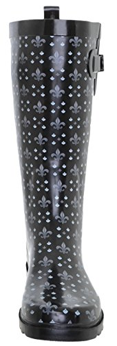 Rubber Black Capelli Tall Rain Ditsy Fleur York New Boot De Combo Ladies Printed Lis zB7zwZqnxR
