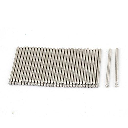 30 PC de 3 mm de di/ámetro punta de diamante Point Bits de molienda de perforaci/ón de 45 mm de largo