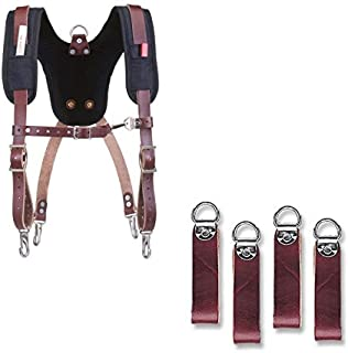 product image for Occidental Leather 5055 Stronghold Suspension System Bundle w/ 5509 Suspender Loop Attachment Set (2 Pieces)