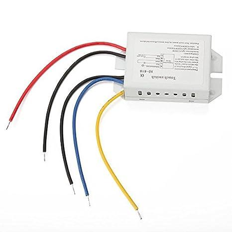 ac 170 240v light on off touch switch for led light lamp amazon comac 170 240v light on off touch switch for led light lamp