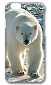 The Polar Bear Walk Customized Hard Shell iphone 6 plus 3d Case By Custom Service Your Perfect Choice