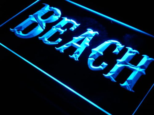 ADVPRO Cartel Luminoso j303-b Beach Surf Display Bar Pub ...