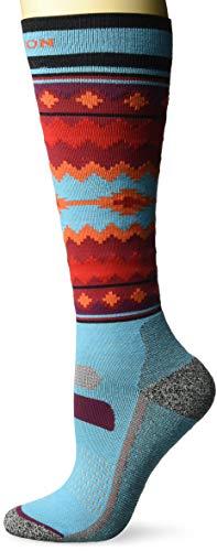 Burton Women's Performance Ultralight Sock, Camo, Tahoe, Medium\\Large