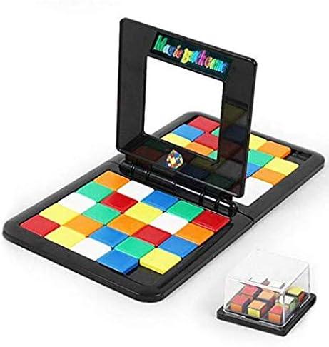 Mobile Magic Block Double Game Kids Brain Intellectual Development, Juego De Mesa Batalla Padre-niño Juguetes Interactivos Rompecabezas, Juguetes De Los Niños del Juego del Cubo De Rubik: Amazon.es: Hogar