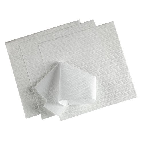 Kimtech Delicate Surface Wiping Cloth for labs and glass cleaning, Reusable, Large Size (23.7 x 38.1 cm), Pack of 25, White Color, 60027 Price & Reviews