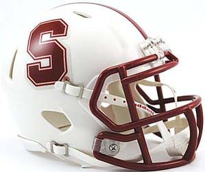 NCAA Stanford Cardinal Speed Mini Helmet