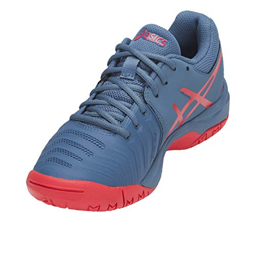 GS rouge Asics azur AW18 7 flash Tennis Resolution Shoes Gel Junior bleu qtvwqg
