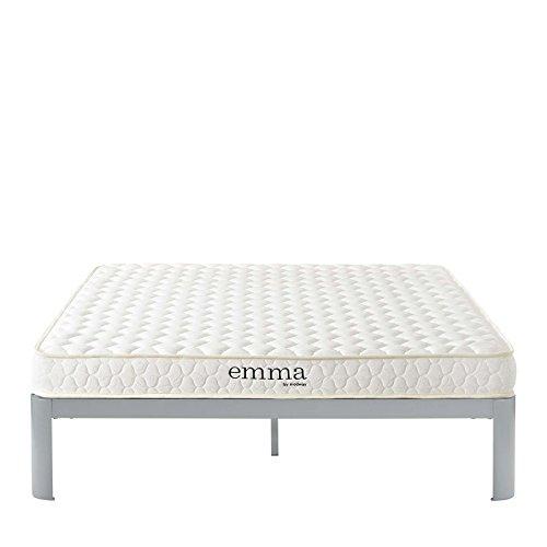 "Modway Emma 6"" Queen Dual-Layer Foam Mattress - Firm Mattress For Guest Or Master Bedroom - 10-Year Warranty"