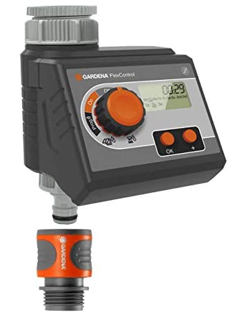 Programador de riego FlexControl de GARDENA: control automático del riego por día de la semana
