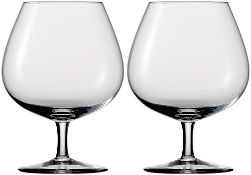 Eisch 25140209 Jeunesse Jenuesse Handmade Lead-Free Crystal Brandy Snifter (2 Set), 12 oz, Clear